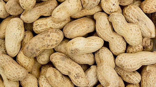 Die übriggebliebenen Erdnüsse lassen sich verwerten.