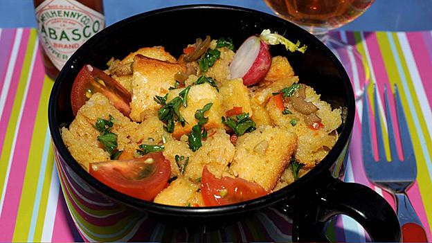 Eier, Salz, Pfeffer und Brot: «Brot-Eier-Mocken».