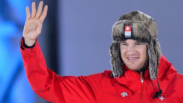 162 Kinder geniessen einen schulfreien Tag - Dank Dario Colognas Gold-Lauf an den Olympischen Spielen in Sotschi.