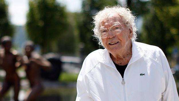 Happy Birthday, Hans Erni! Der Luzerner Künstler feiert am 21. Februar 2014 seinen 105. Geburtstag.