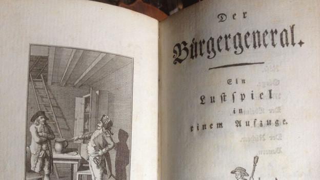 Erstausgabe von Goethe.