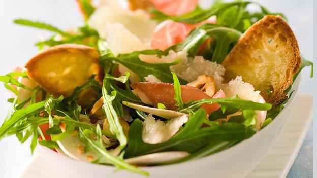 Grün, knackig, frisch, gesund: Ein feiner Sommersalat.