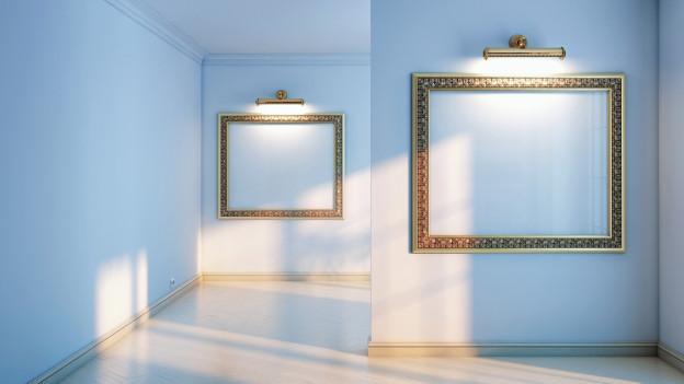 Bilder in einer Galerie