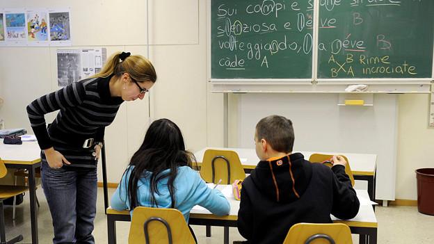 In der Schweiz beliebt wie nie: Der Lehrerberuf.