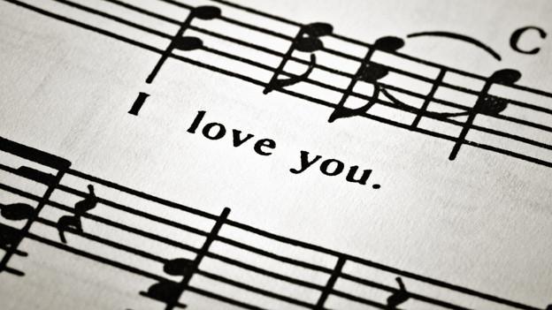 Musiknoten.