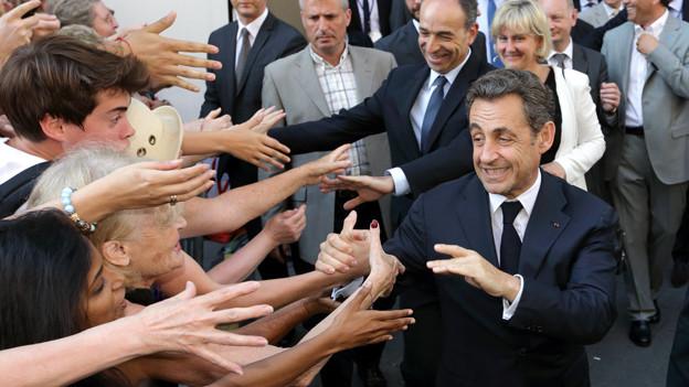Kleiner Mensch – grosse Macht: Der ehemalige französische Staatspräsident Nicolas Sarkozy misst 1,69 m.