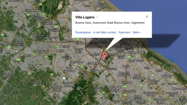 Das «andere» Lugano liegt in der nähe der Argentinischen Hauptstadt Buenos Aires.