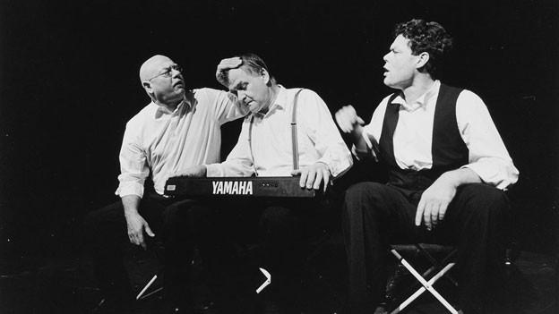 Norbert Schwientek, Daniel Fueter und Martin Schneider.