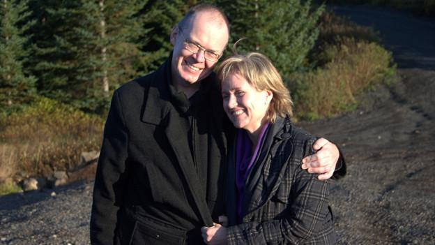 Manfred Lemke und seine Frau Thora Sigga.