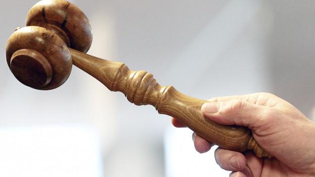 Holzhammer bei einer Versteigerung.