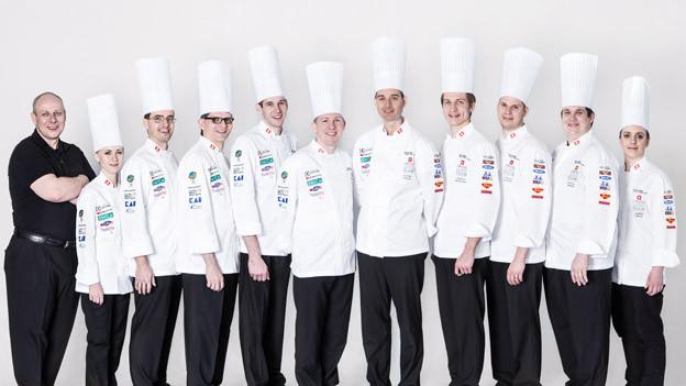 Die Schweizer Koch-Nationalmannschaft