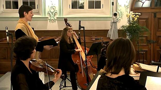 Musiker der Bachstiftung.