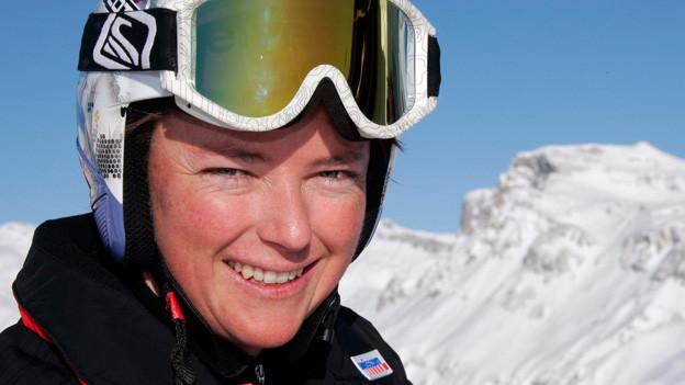 Ex-Skirennfahrerin Sylviane Berthod.