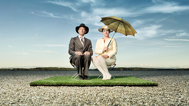 Das Kabarett-Duo «Schön & Gut»