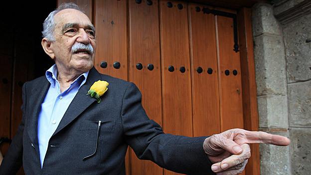 Porträt von Gabriel García Márquez Ende März 2014.