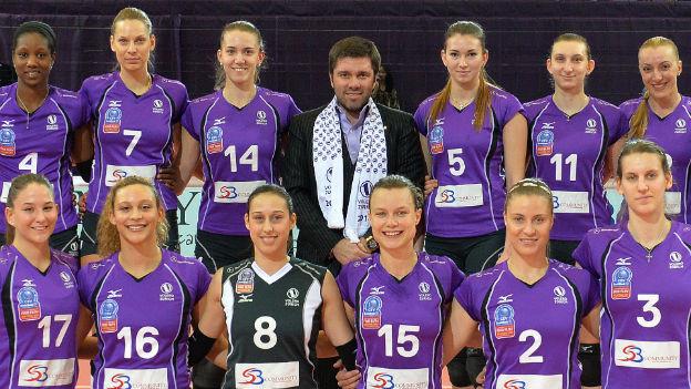 Volleyballerinnen von Voléro Zürich