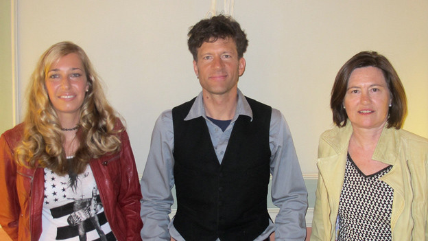 Sabine Holbrook, Ralf Schlatter und Katharina Kilchenmann.