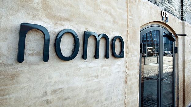 Eingangsbereich Noma Restaurant.