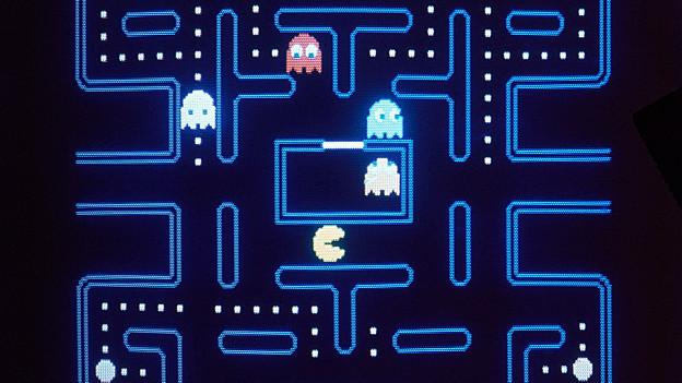 Monitor von Pacman.