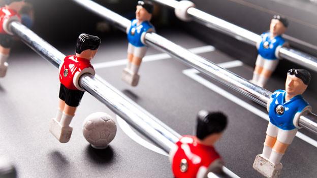 Fussball-Figuren (Tögglikasten)
