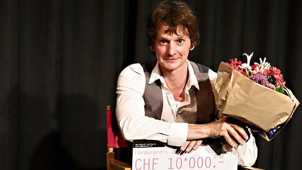 Der Gewinner des Oltner Kabarett-Castings Christoph Simon