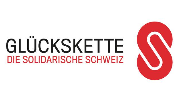 Das neue Logo der Glückskette mit Erweiterung: «Die solidarische Schweiz».
