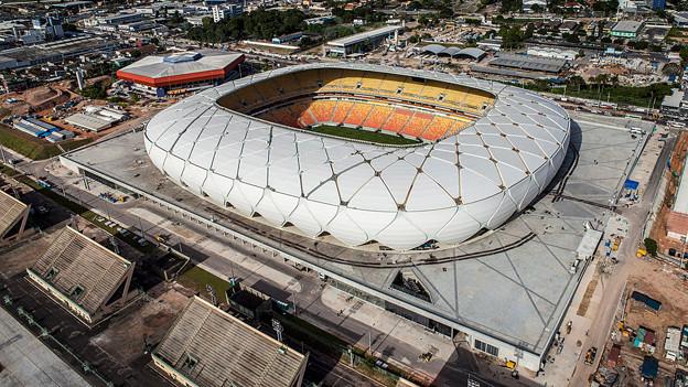 Die Arena da Amazonia in Manaus.
