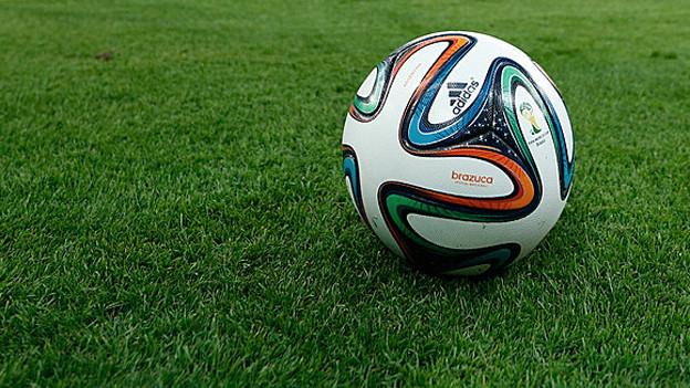 Der WM-Ball «Brazuca».
