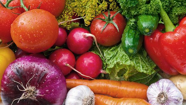 Verschiedenes Gemüse.