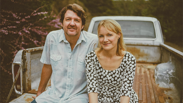 Kelly Willis & Bruce Robison auf Pickup.