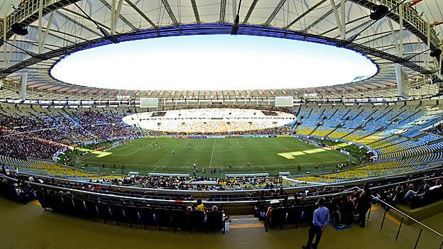 Stadion Maracanã von innen.