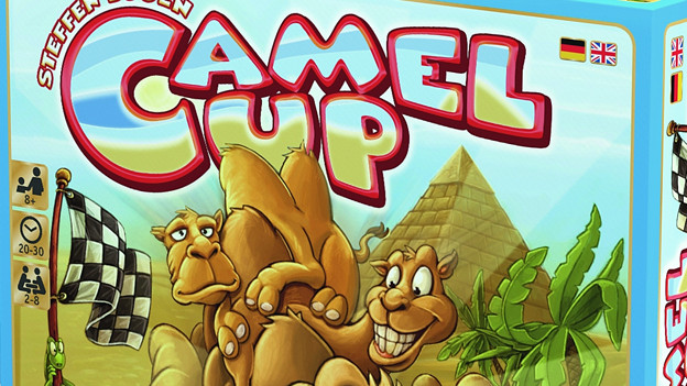 Cover-Schachtel des Spiels «Camel up».