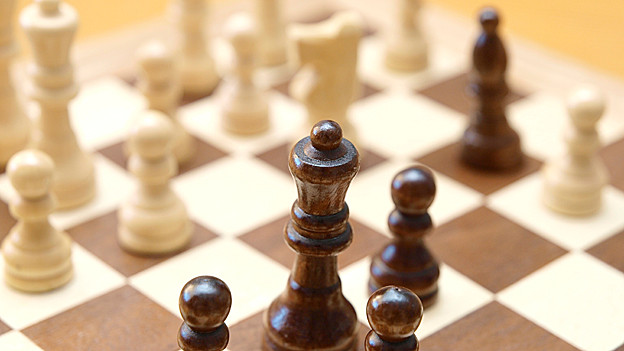 Schachbrett.
