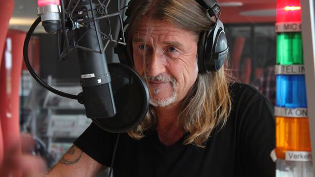 Ralph Wicki im Studio.