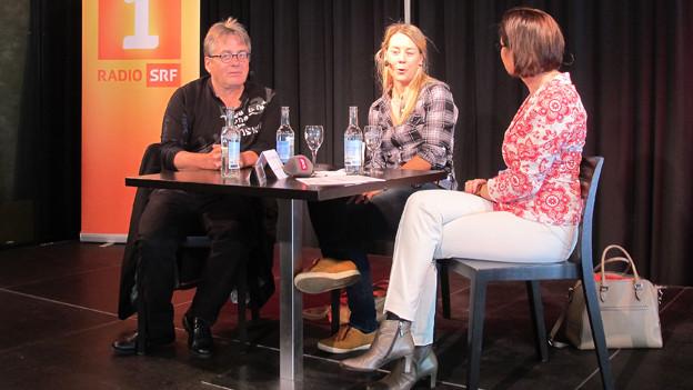 Hermann Anthamatten, Fränzi Aufdenblatten und Katharina Kilchenmann.