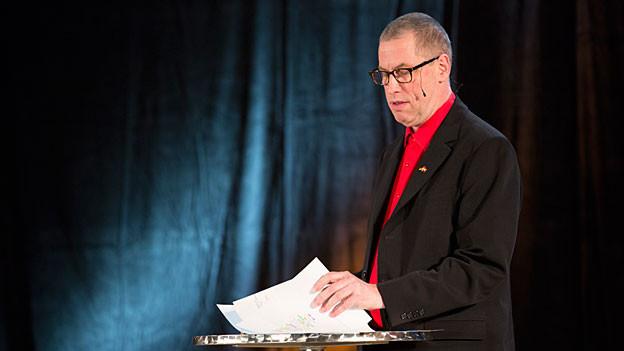 Thomas C. Breuers Auftritt an der Zytlupe Live im Radiostudio Zürich 2012