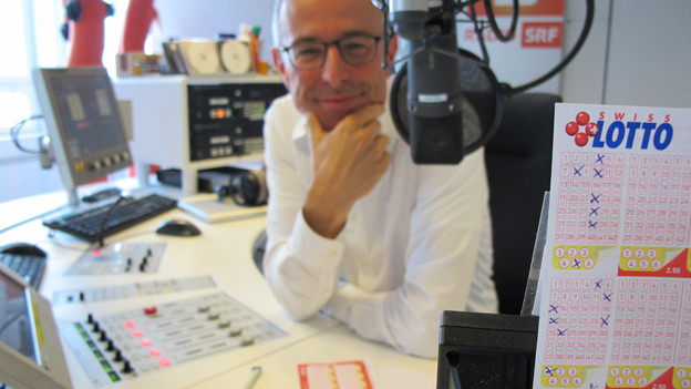 Dani Fohrler hat diesen Lottoschein zusammen mit Radio SRF 1-Hörern ausgefüllt.
