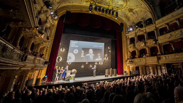 Zurich Film Festival in der Zürcher Oper.