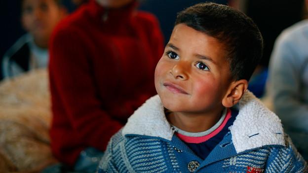 Flüchtlingskind im Libanon.