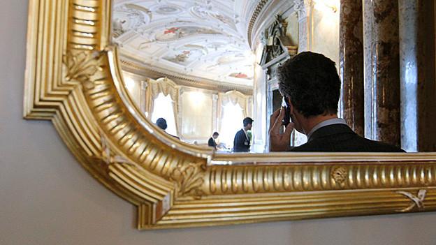 Lobbyist im Bundeshaus.
