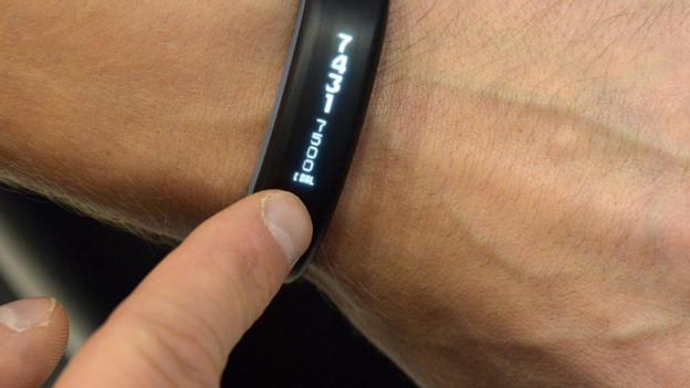 Daten-Armband.
