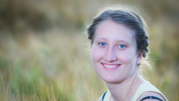 Luana Thomi ist angehende Lehrerin und Gewinnerin des Kurzkrimi-Wettbewerbs.