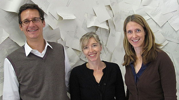 Markus Mader, Anita Richner, Sabine Bianchi.