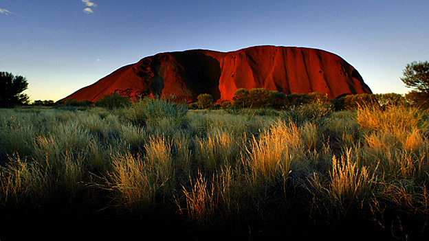 Der Ayers Rock in Australien.
