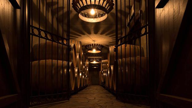 Blick in die zypriotische Tsiakkas Winery.
