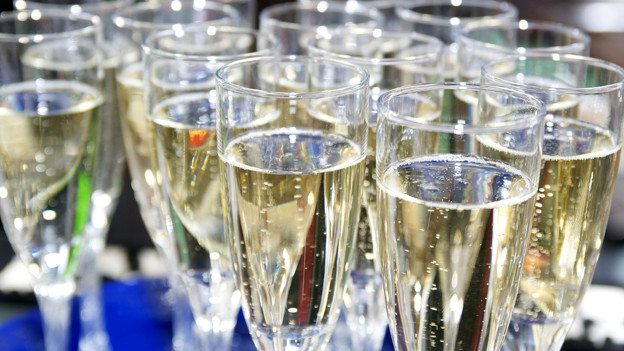 Champagnergläser.