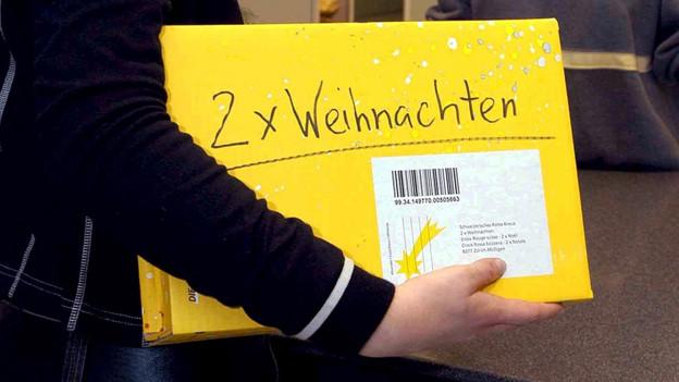 Paket für «2 x Weihnachten».