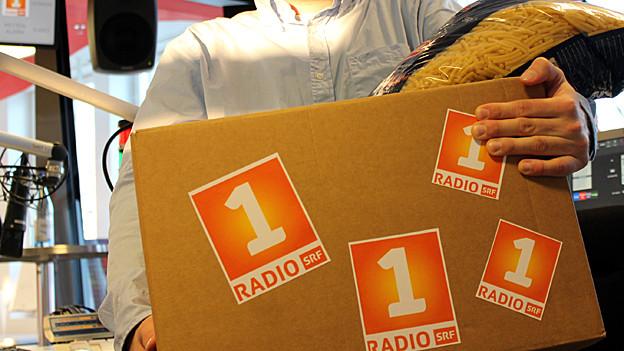 Moderatoren-Päckli von Radio SRF 1.