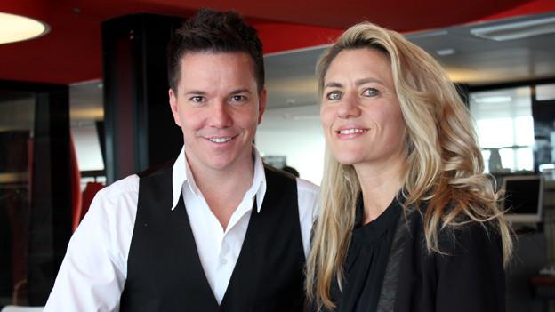 Sandra Schiess und Sven Epiney.