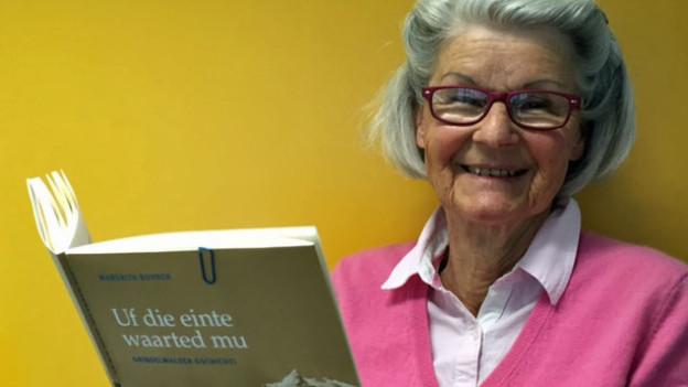 Die Mundart-Autorin mit ihrem neuen Buch
